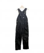 LEE(リー)の古着「オーバーオール」|ブラック