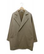 AURALEE(オーラリー)の古着「LIGHT MELTON OVER COAT」|ベージュ