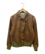 LEVIS VINTAGE CLOTHING(リーバイスヴィンテージクロージング)の古着「レザージャケット」