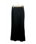 Ys(ワイズ)の古着「ウールスカート」|ブラック