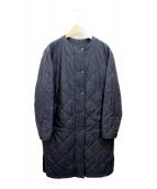 23区(ニジュウサンク)の古着「キルティングコート」|ネイビー