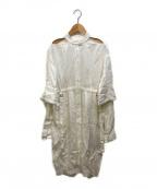 TARO HORIUCHI(タロウホリウチ)の古着「デザインワンピース」 ホワイト