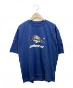 ADER error(アーダーエラー)の古着「プリントTシャツ」|ブルー