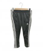 adidas(アディダス)の古着「3 STRIPES CIGARETTE TRACKPANTS」|ブラック
