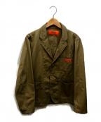 UNIVERSAL OVERALL(ユニバーサルオーバーオール)の古着「ジャケット」 ベージュ