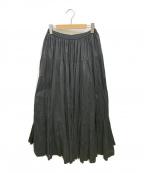 MARIHA()の古着「ティアードスカート」 ブラック