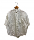 AMI Alexandre Mattiussi(アミ アレクサンドル マテュッシ)の古着「ワイドシャツ」 ホワイト