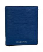ck Calvin Klein(シーケーカルバンクライン)の古着「コンパクトウォレット」|ブルー