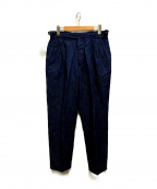 HAVERSACK(ハバーサック)の古着「Selvage Denim Gurkha Pants」 インディゴ