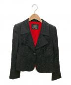 伊太利屋(イタリヤ)の古着「ジャケット」|ブラック