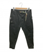 Aape BY A BATHING APE(エーエイプ バイ アベイシングエイプ)の古着「AAPE CHINO PANTS」|ブラック