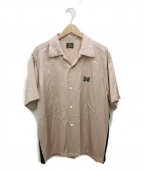 Needles()の古着「オープンカラーシャツ」 ベージュ