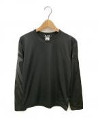 BLACK COMME des GARCONS()の古着「長袖カットソー」|ブラック