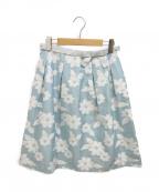 MS GRACY(エムズグレイシー)の古着「オーガンジー花柄スカート」