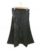 SOU・SOU(ソウソウ)の古着「綿麻ドビー織 富士」|ブラック