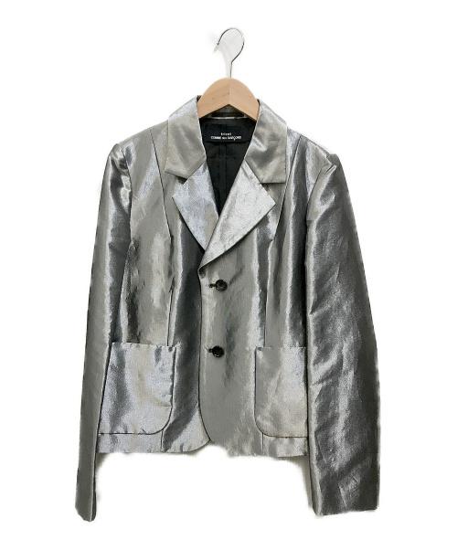 tricot COMME des GARCONS(トリココムデギャルソン)tricot COMME des GARCONS (トリココムデギャルソン) メタリックテーラードジャケット シルバー サイズ:不明の古着・服飾アイテム