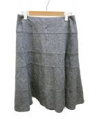 ()の古着「フレアスカート」 ブルー