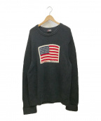 POLO JEANS CO.(ポロジーンズカンパニー)の古着「セーター」|ブラック