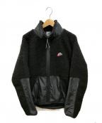 NIKE()の古着「SHERPAジャケット」|ブラック