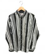SUPREME × NIKE(シュプリーム × ナイキ)の古着「コットンツイルシャツ」|ブラック×ホワイト