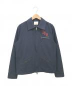 DEUS EX MACHINA(デウス エクス マキナ)の古着「ドリズラージャケット」|ネイビー