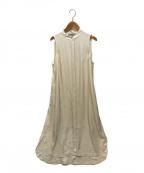 ALL SAINTS(オールセインツ)の古着「ANGELINA 2-IN-1 DRESS」|アイボリー