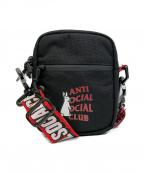 anti social social CLUB(アンチソーシャルソーシャルクラブ)の古着「ショルダーバッグ」 ブラック