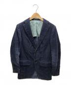 Brilla per il gusto(ブリッラ ペル イルグースト)の古着「コーデュロイテーラードジャケット」|ネイビー