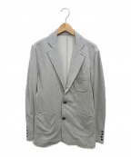 Drumohr(ドルモア)の古着「コットンストレッチ テーラードジャケット」|グレー