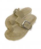 Caminando(カミナンド)の古着「Thumb Loop Sandal」|ベージュ