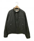 ARMANI COLLEZIONI(アルマーニ コレツィオーニ)の古着「ジップジャケット」 ブラック