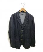 GIORGIO ARMANI(ジョルジョアルマーニ)の古着「3Bジャケット」|ネイビー