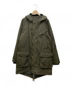 DIESEL Black Gold(ディーゼル ブラック ゴールド)の古着「中綿コート」|オリーブ