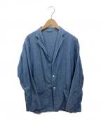 COMOLI(コモリ)の古着「ベタシャンシャツジャケット」|ブルー