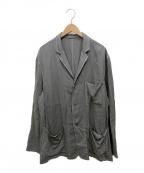 Graphpaper(グラフペーパー)の古着「Soft Cupro Jacket」|グレー