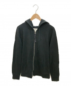 Vivienne Westwood(ヴィヴィアンウエストウッド)の古着「ジップパーカー」|ブラック