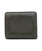 MARC JACOBS(マークジェイコブス)の古着「THE TEXTURED BOX MINI COMPACT 」 ASH