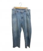 MM6 Maison Margiela(エムエムシックス メゾンマルジェラ)の古着「デニムパンツ」|ブルー