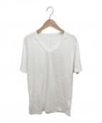 MM6 Maison Margiela(エムエムシックス メゾンマルジェラ)の古着「エイズTシャツ」|ホワイト