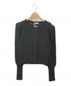 MAX&Co.(マックスアンドコー)の古着「クルーネックニット」|ブラック
