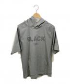 BLACK LABEL CRESTBRIDGE(ブラックレーベルクレストブリッジ)の古着「プルオーバーパーカー」|グレー
