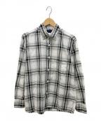 CORONA(コロナ)の古着「チェックシャツ」|ホワイト×ブラック