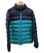 Columbia(コロンビア)の古着「マウンテンスカイラインジャケット」|ブルー×ネイビー