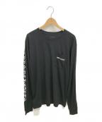 CHROME HEARTS(クロムハーツ)の古着「ポケットTシャツ」|ブラック