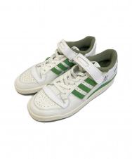 adidas (アディダス) FORUM 84 LOW CREW GREEN ホワイト×グリーン サイズ:270 FY8683