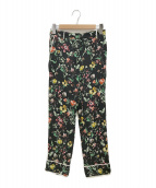 ()の古着「Faded Botanical Pajama Pant」|ブラック