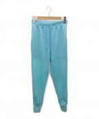 TOGA PULLA(トーガ プルラ)の古着「High twist jersey pants」|ブルー