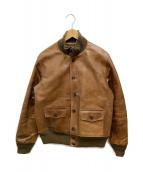 ()の古着「Type A-1レザージャケット」 ブラウン