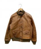 BUZZ RICKSON'S(バズリクソンズ)の古着「Type A-1レザージャケット」 ブラウン