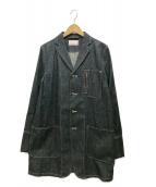 ()の古着「デニムコート」 インディゴ